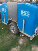 EDGE GRIME BUSTER TOWED JETTER/WASHER UNIT, TWIN CYLINDER ENGINE.... NB: THIS ITEM IS LOCATED IN