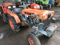 Kubota ZB7000E 2wd compact tractor c/w rear linkage WHEN TESTED WAS SEEN TO RUN, DRIVE, STEER AND