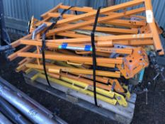 PALLET OF PIPE BENDERS