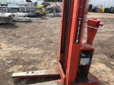 small battery forklift, walk behind,direct ex company liquidation...removed from premises 4th