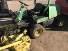 JOHN DEERE F1145 OUT FRONT MOWER WITH COMMERCIAL 60 DECK, 2756 REC HRS. WHEN TESTED WAS SEEN TO