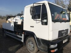 HYDROPUMP LS600 CONCRETE PUMP, YEAR 2015, MOUNTED ON MAN 4x2 CHASSIS, REG: YR52 NKO, WITH V5. THIS