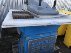 Large stencil press unit.. SOLD UNDER THE AUCTIONEERS MARGIN SCHEME…NO VAT WILL BE CHARGED ON THE