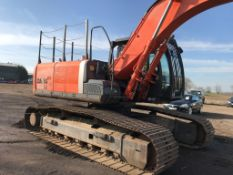 HITACHI ZX280 EXCAVATOR WITH 2 BUCKETS YEAR 2012 9461 REC HRS SN:HCMBFK00J00032830 WHEN TESTED WAS