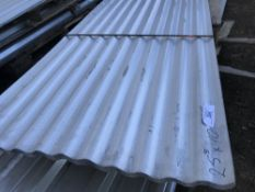 Pack of 25no. 10ft corrugated roof sheets