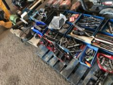 2 X PALLETS OF ASSORTED ENGINEERING EQUIPMNET, SOURCED FROM COMPANY LIQUIDATION