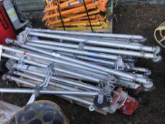10no. Aluminium manhole tripods