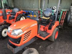 KUBOTA RX2350 4WD HYDRO DRIVE COMPACT TRACTOR SN:76921 year 2014 build WHEN TESTED WAS SEEN TO