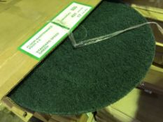 LARGE QUANTITY OF BOXES OF SANDING PADS, 64 X APPROX IN TOTAL.... SOLD UNDER THE AUCTIONEERS