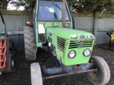 Deutz D7206 Synchron 2wd tractor WHEN TESTED WAS SEEN TO RUN, DRIVE, STEER AND BRAKE