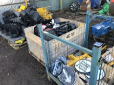 Large quantity of traffic light heads, stands, accessories etc.. SOLD UNDER THE AUCTIONEERS MARGIN