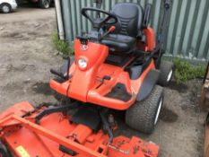 KUBOTA 2880 4WD OUTFRONT MOWER, 2670 REC.HRS. REG: SF14 HXM, V5 TO FOLLOW when tested was seen to