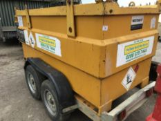 WESTERN 2000 LITRE IBC TWIN WHEELED BOWSER YEAR 2007 BUILD