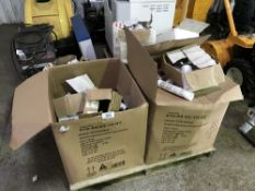 Large pallet of sealants etc. Sold Under The Auctioneers Margin Scheme, NO VAT Charged on the hammer