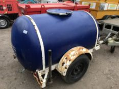SINGLE AXLED DRINKING WATER BOWSER