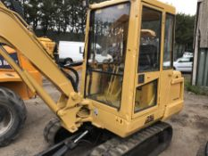 Case CK28 2.8tonne excavator c/w 4no. buckets SN:GCK2856509 when tested was seen to start, drive,