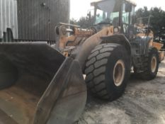 HYUNDAI HL770-9A LOADING SHOVEL, YEAR 2013 BUILD, SN:HHKHLK04AD0000080 WHEN TESTED WAS SEEN TO
