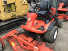 KUBOTA 2880 4WD OUTFRONT MOWER, 2160 REC.HRS. REG: SF14 HXL, V5 TO FOLLOW when tested was seen to