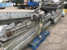 HEAVY DUTY CONVEYOR SYSTEM PARTS Sold Under The Auctioneers Margin Scheme, NO VAT Charged on the