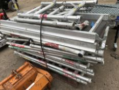 PALLET OF NARROW ALI TOWER PARTS