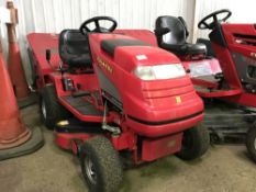 COUNTAX C300 H HYDROSTATIC DRIVE MOWER C/W COLLECTOR NO VAT ON HAMMER PRICE Sold Under The