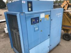 BOGE SD40-2 PACKAGED AIR COMPRESSOR PLUS RECEIVER