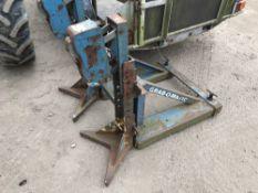 BARREL CLAMP ATTACHMENT FOR FORKLIFT