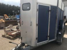 IFOR WILLIAMS HUNTER 505R HORSE TRAILER SN:SCK400000V0215512 SOLD UNDER THE AUCTIONEERS MARGIN