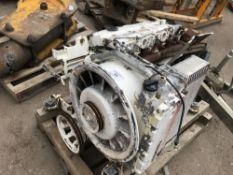turbo charged four cylinder diesel engine