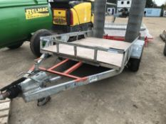 Wide bodied Indespension plant trailer