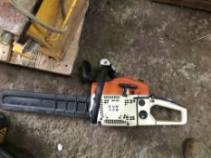 PETROL ENGINED CHAINSAW, LITTLE USED