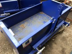 Small sized tractor transport box, little used