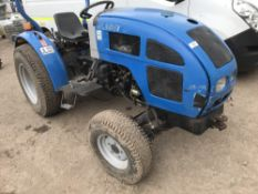 JINMA JL254 4WD TRACTOR SN:C1318 YEAR 2005 when tested was seen to start, drive steer and brake