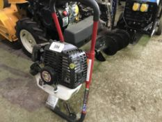 Southland petrol engined post hole borer, little used