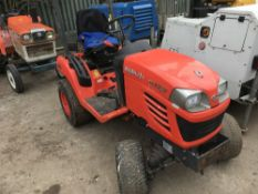 Kubota BX2350 4wd compact tractor, yr2014 build, SN: 76921 when tested was seen to start, drive
