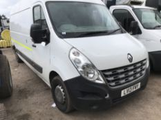 RENAULT MASTER LWB PANEL VAN REG:LV13 FWY, 143,977 REC MILES when tested was seen to start, drive