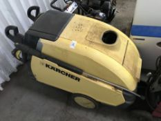 Karcher HDS745 hot wash steam cleaner Sold Under The Auctioneers Margin Scheme, NO VAT Charged on