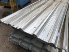 PACK OF 25NO 10FT BOX PROFILE ROOFING SHEETS