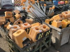 APPROX 75NO WORKLIGHTS C/W BASES 110VOLT POWERED