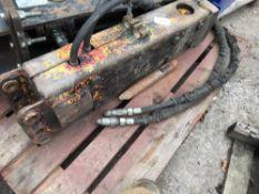 JCB 1- 3 TONNE BREAKER Sold Under The Auctioneers Margin Scheme, NO VAT Charged on the hammer