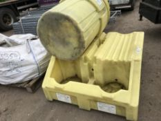 DRIP TRAY AND BIN Sold Under The Auctioneers Margin Scheme, NO VAT Charged on the hammer price of