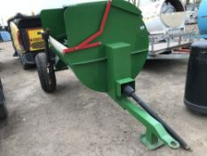 Towed side discharge muck spreader, little used