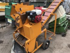 SISIS SOIL SCREENING CONVEYOR C/W HONDA ENGINE when tested was seen to start and run and belt