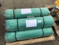 5 X TYPE 500 DEBRIS NETTING ROLLS SIZE 2M X 50M Sold Under The Auctioneers Margin Scheme, NO VAT