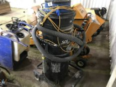 LARGE BLUE INDUSTRIAL VAC UNIT Sold Under The Auctioneers Margin Scheme, NO VAT Charged on the