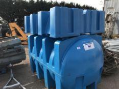 TITAN 550 GALLON WATER TANK C/W STAND
