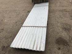 PACK OF 25NO 10FT CORRUGATED ROOFING SHEETS