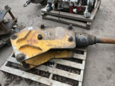 Hydraulic breaker for 8tonne excavator