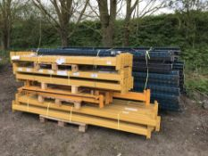 LARGE QUANTITY OF PALLET RACKING, SOURCED FROM COMPANY LIQUIDATION