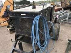 DIRT DRIVER STEAM CLEANER ON WHEELS when tested engine was seen to run